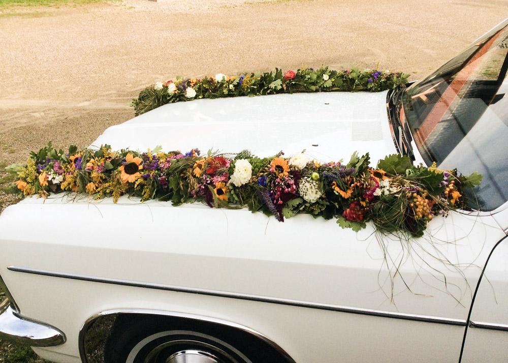 Schmuck Hochzeitsauto