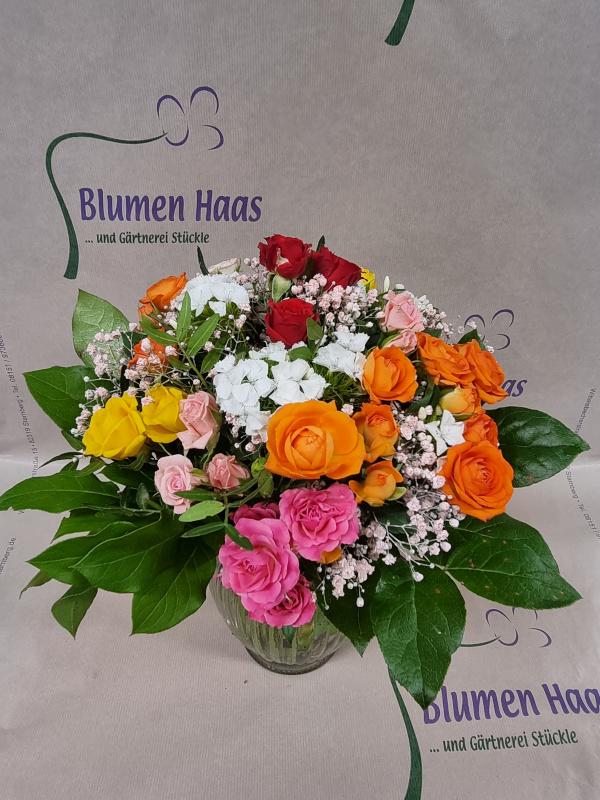 Nr.85 Bunter Rosen Gruß 29,90€